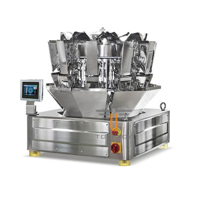 SS304 10 Head 0.8L Weigher Packing Machine For Candy