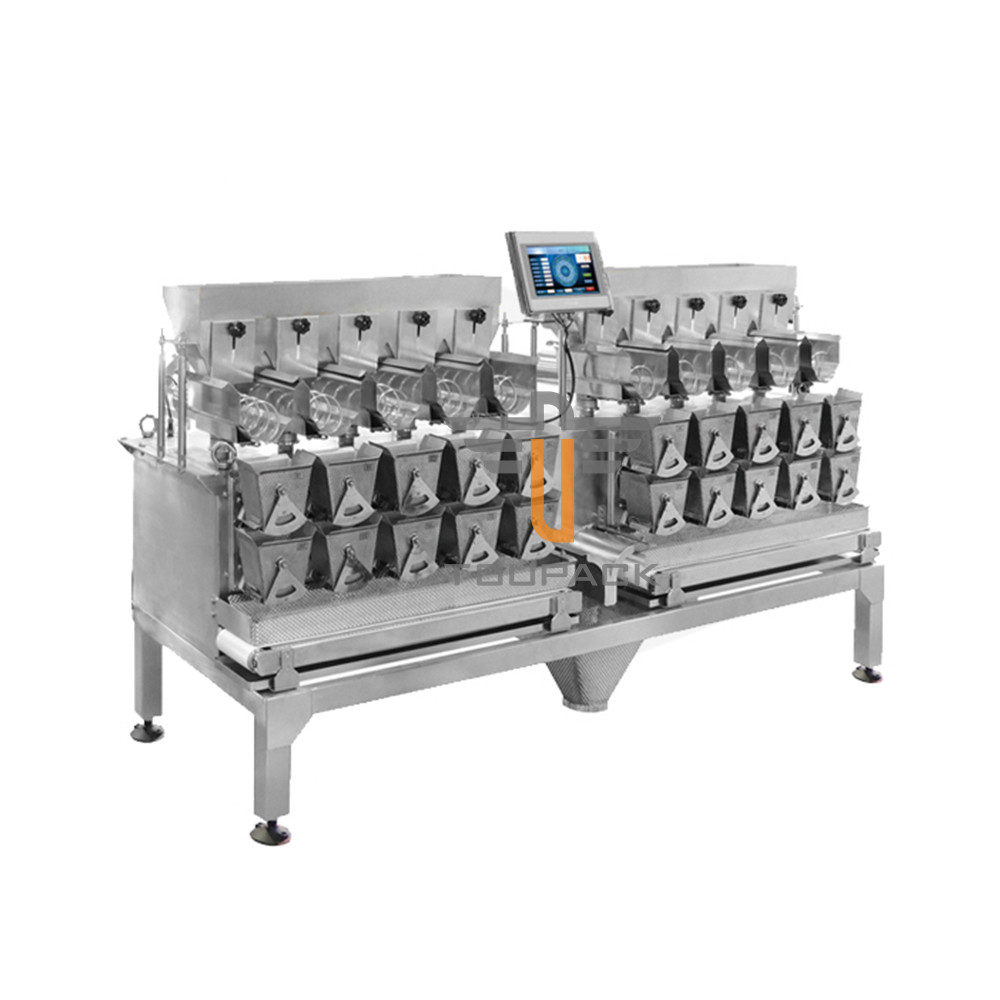 Two Tier 10/14 Head Sticky Material MultiHead Weigher