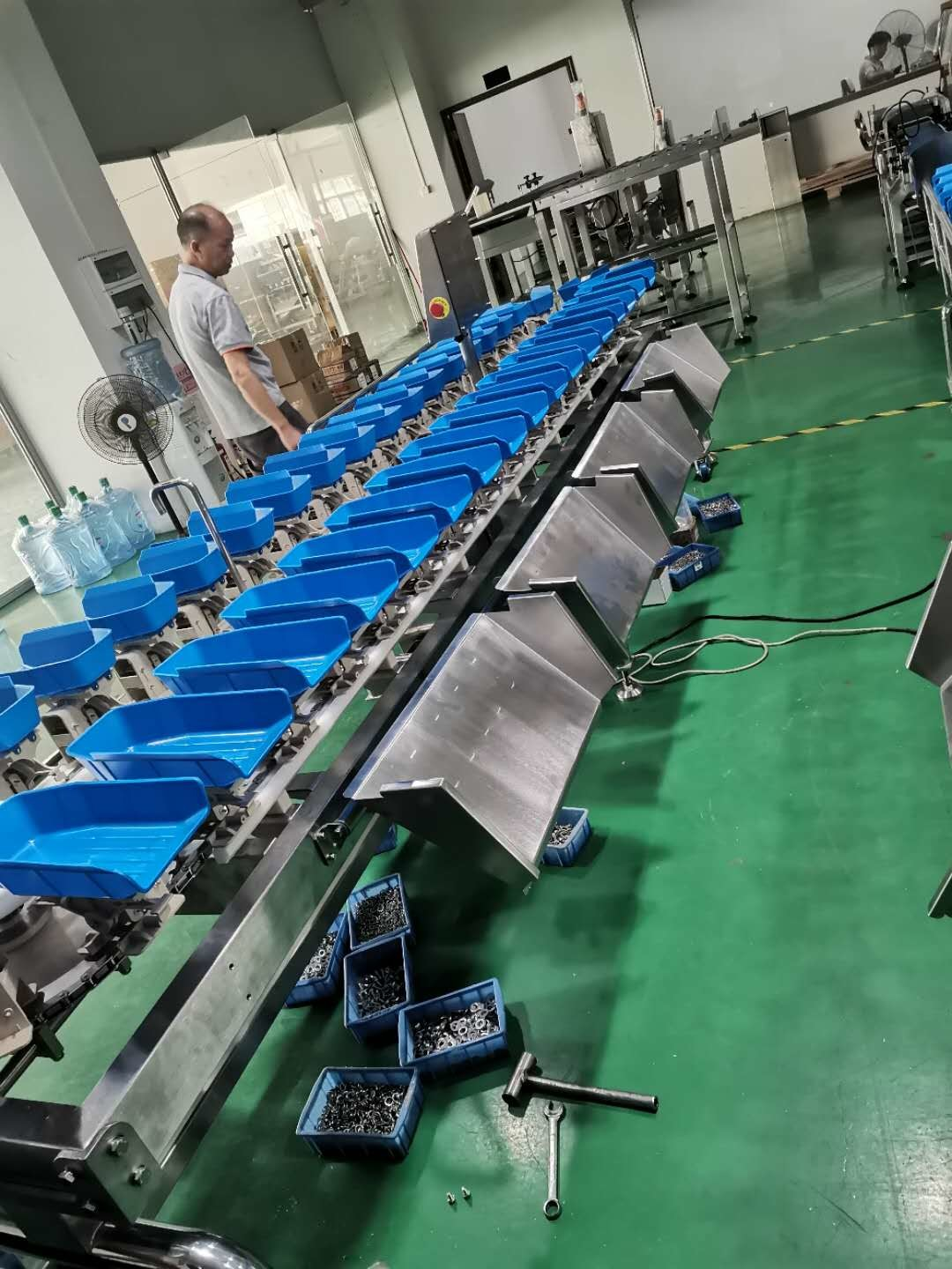 1000g Vegetable Fish SUS304 Fruit Multihead Weigher