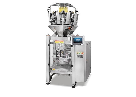 Bag Forming Filling Sealing Multihead Weigher Packing Machine
