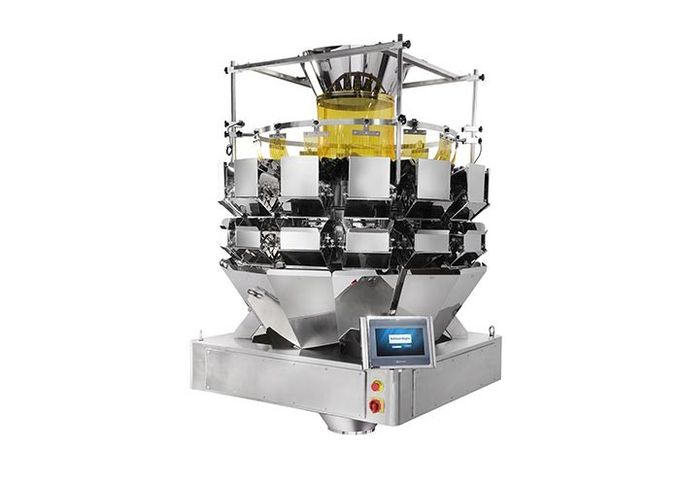 Vegetable Salad 5.0L Multihead Weigher Packing Machine 0